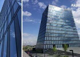 Farby AkzoNobel na nagradzanym budynku w Moskwie