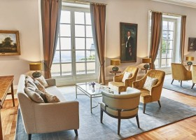 Grandhotel Petersberg znów piękny z farbami Caparol