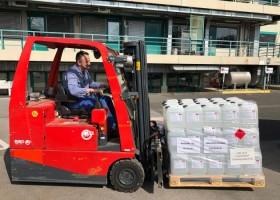 BASF wytwarza środki dezynfekcyjne dla szpitali