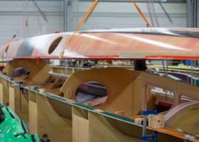 Nowa łódź Arkema 4 powstaje mimo pandemii