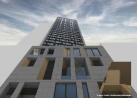 Najwyższy modułowy hotel na świecie z farbami Sika