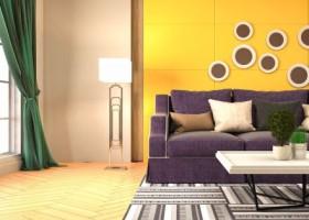 Farby dekoracyjne – jak ożywić wnętrze przy użyciu farb?