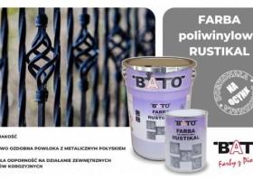 Rustikal i Patyna – ozdobne farby Bato do metalu
