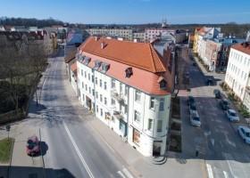 Obiekt referencyjny Farby KABE kamienica przy ul. Jagiellońskiej w Olsztynie