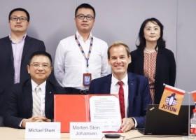 Jotun podpisał umowę z U-Ming na zastosowanie HSS
