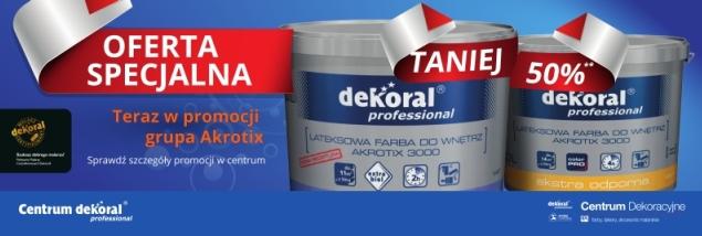 Farby Dekoral 50 Taniej Rynekfarbpl Rynek Farb