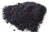 Pigment carbon black. Fot. Wikimedia Commons