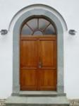Drzwi zakonserwowane przy pomocy mieszanki oleju lnianego i tungowego. Fot. Handwerker (Wikimedia Commons)