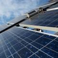 czyste panele słoneczne