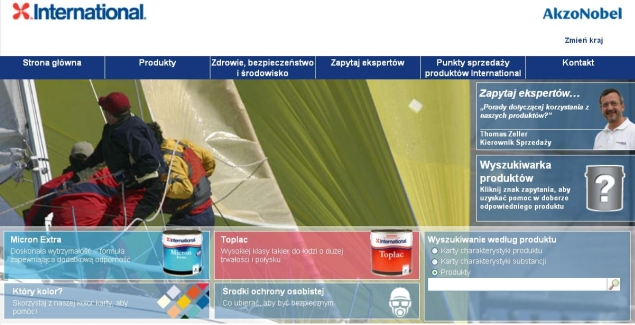 farby jachtowe International Paint