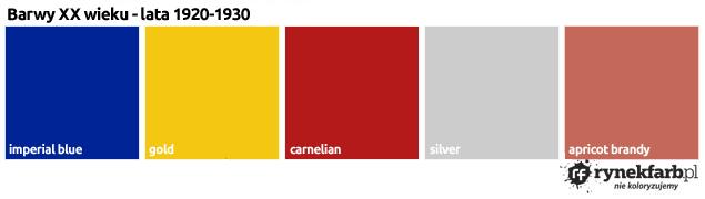 barwy XX wieku