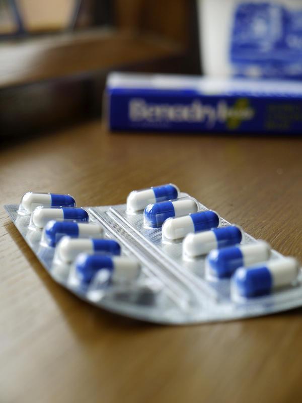 przeciwporostowe leki antyhistaminowe