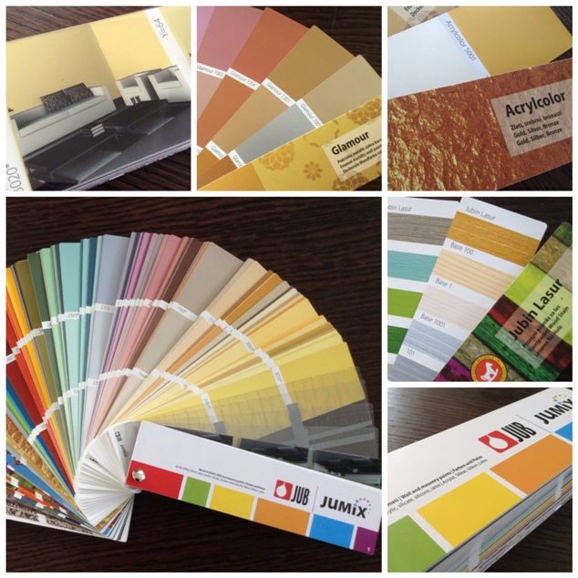 JUB color card Jupol Jumix