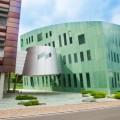 Modern building in Vaduz downtown