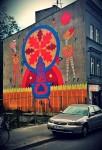 Pierwszy mural w ramach akcji, odsłonięty kilka dni temu na krakowskim Zabłociu. Fot. archiwum redakcji