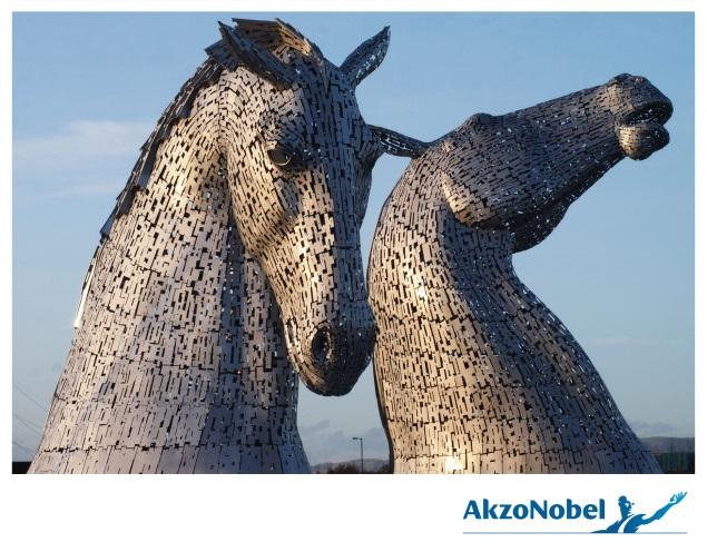 The Kelpies AkzoNobel