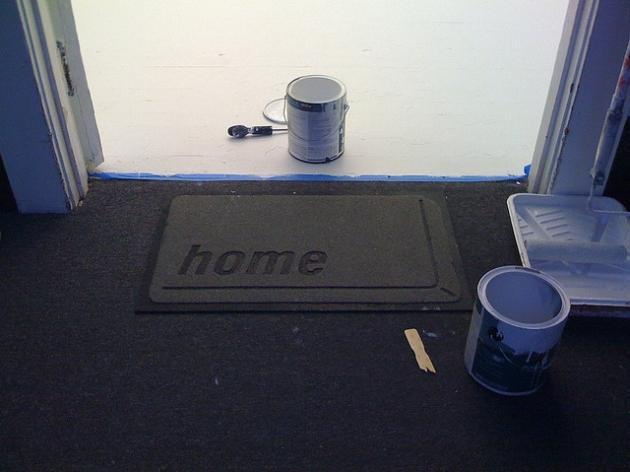 pomalowanie podłogi