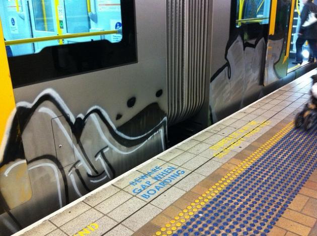 Mousetrap graffiti