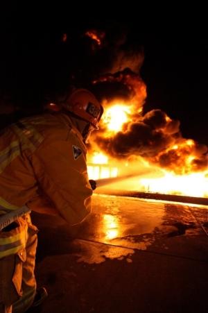 pożar Gdynia