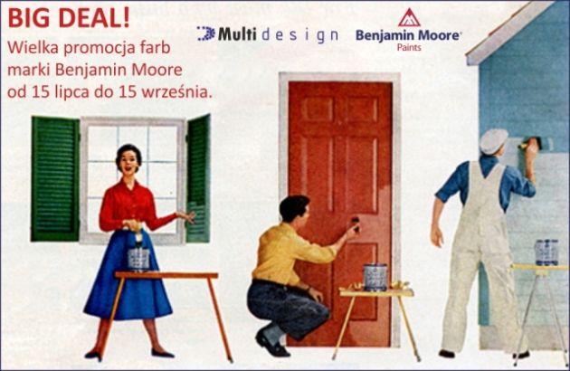 promocja Benjamin Moore Big Deal