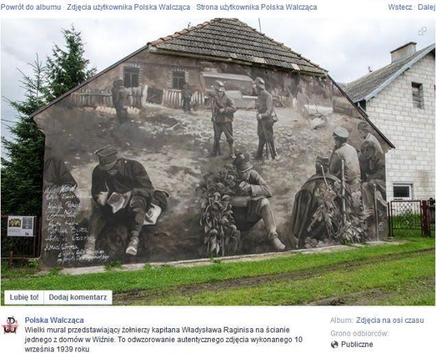 wojna mural