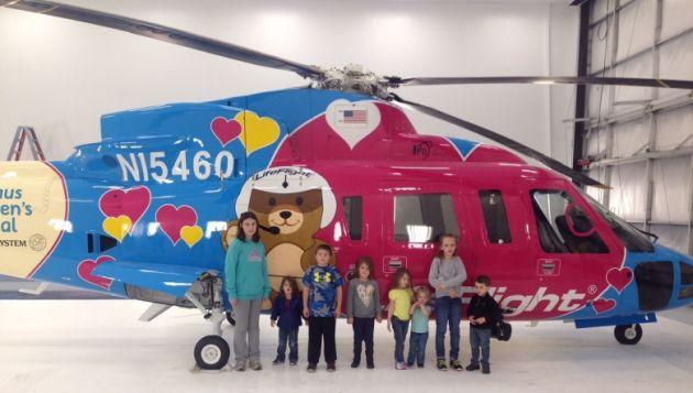 Axalta helikoptery