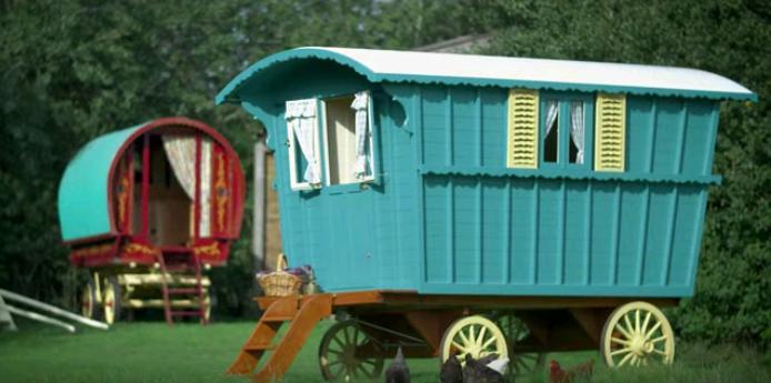wozy cygańskie Gypsy Caravan Company
