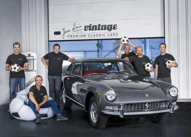 Spies Hecker france Ferrari 330 jean laim vintage