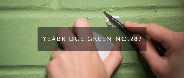 Yearbridge Green Farrow Ball