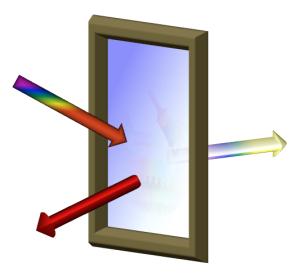 Farba odbija promieniowanie podczerwone, przepuszcza zaś światło. Fot. Garret Miyake / University of Colorado