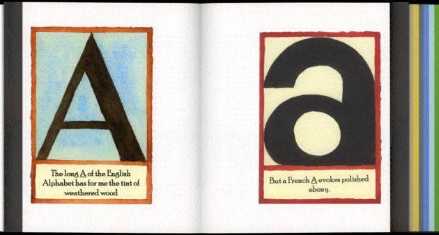 Vladimir Nabokov synestezja alfabet