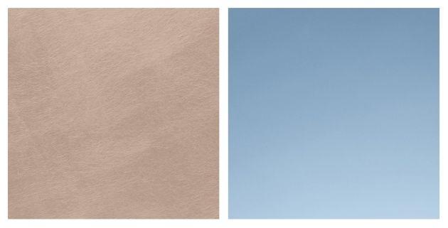 Oro rosa z linii Urban Matter Efekt Stali oraz Subtelny efekt lustra z linii farb do szkła Glass Paint Collection. Fot. arch. ICA Group