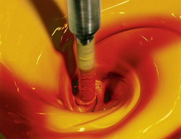 produkcja farby Fraunhofer Institute