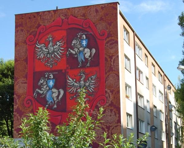 mural Unia Lubelska Primacol