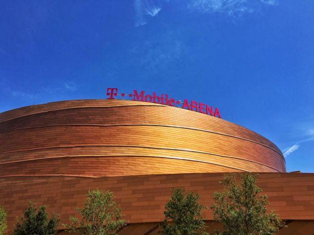 T-Mobile Arena Valspar Las Vegas