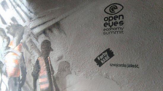 mural Kabe Open Eyes Economy Summit