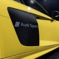 Audi matowe wzory na karoserii