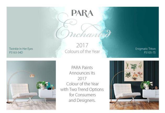 PARA Paints trendy kolorystyczne 2017 Kolor Roku 2017