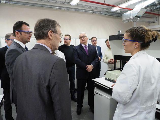 BYK laboratorium w Rosji