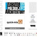 quick-mix Mecenas Polskiej Architektury 2016