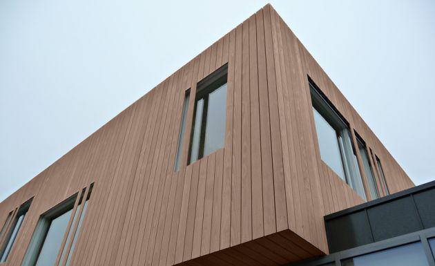 ICA impregnat nowoczesna architektura drewno Accoya