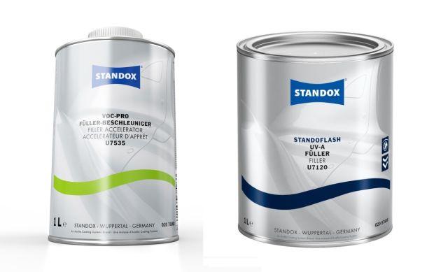 Standox nowe produkty wypełniacz przyspieszacz