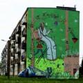 Kabe mural w Pszowie