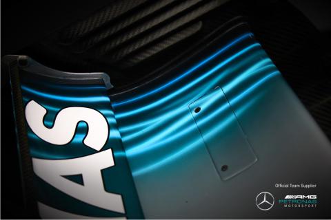 Spies Hecker bolid Mercedes-AMG Petronas Motorsport