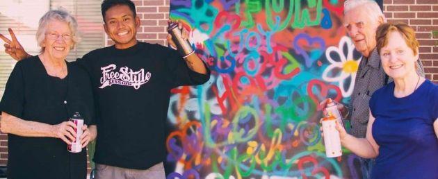 graffiti babcie