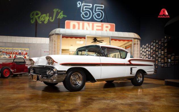 Chevrolet Impala Axalta Amerykańskie graffiti