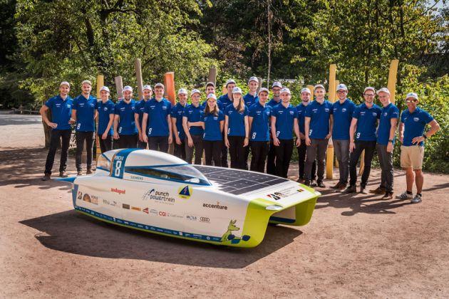 Cromax Punch Powertrain Solar Team