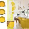 żółty żółto Resene wystrój wnętrz