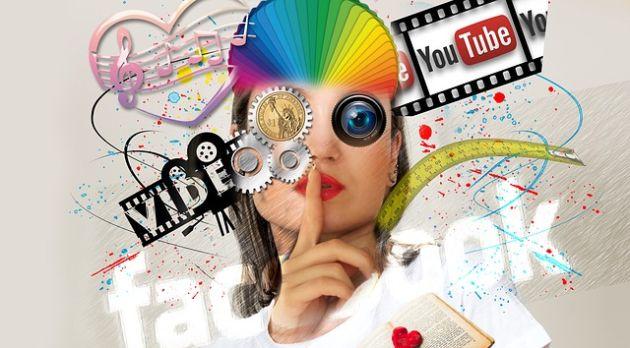 farby Facebook media społecznościowe