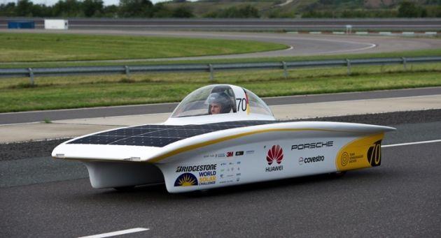 PPG Covestro słoneczny samochód